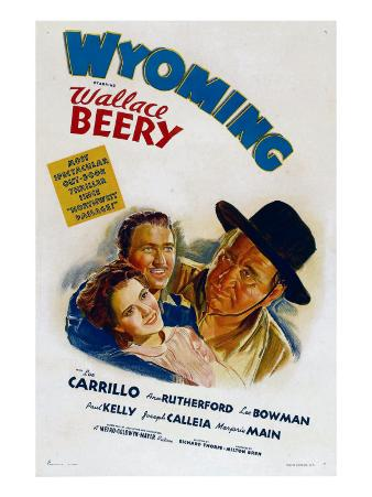 Wyoming, Ann Rutherford, Leo Carrillo, Wallace Beery, 1940