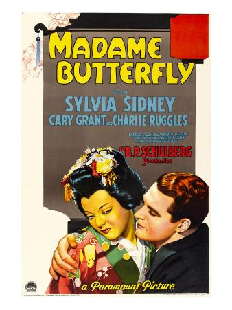 Madame Butterfly, Sylvia Sidney, Cary Grant, 1932
