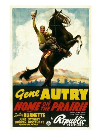 Home on the Prairie, Gene Autry, 1939