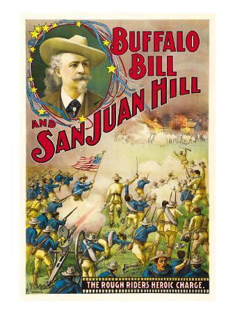 Buffalo Bill and San Juan Hill, 1902