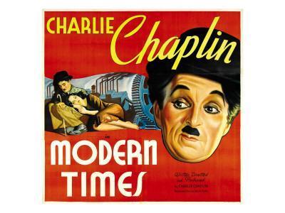 Modern Times, Charlie Chaplin, Paulette Goddard, Charlie Chaplin, 1936