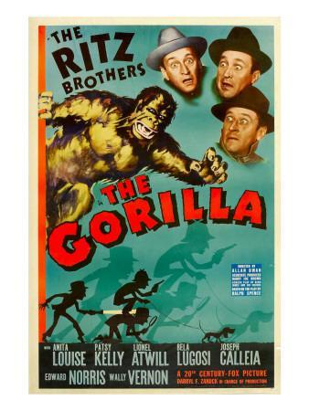The Gorilla, the Ritz Brothers, 1939