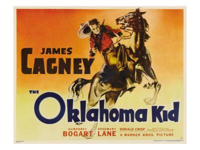 The Oklahoma Kid, James Cagney, 1939