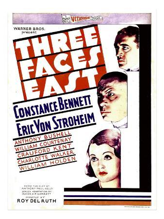 Three Faces East, 1930