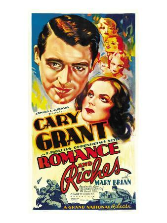 Romance and Riches, Cary Grant, Mary Brian, 1937
