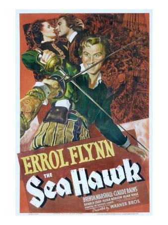 The Sea Hawk, Brenda Marshall, Errol Flynn, 1940