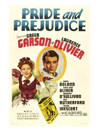 Pride and Prejudice, Greer Garson, Laurence Olivier, 1940
