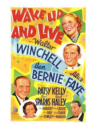 Wake Up and Live, Ben Bernie, Patsy Kelly, 1937