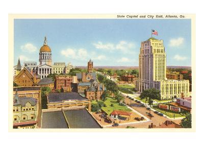 State Capitol, City Hall, Atlanta, Georgia