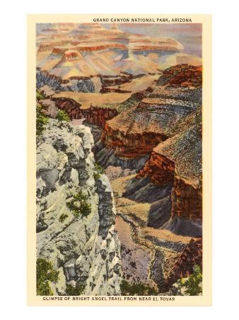 Bright Angel Trail, Grand Canyon