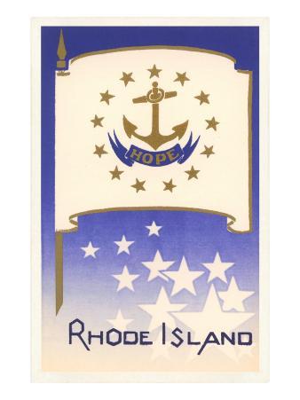 Flag of Rhode Island