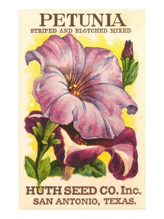 Petunia Seed Packet