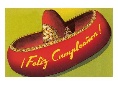 Feliz Cumpleanos on Sombrero