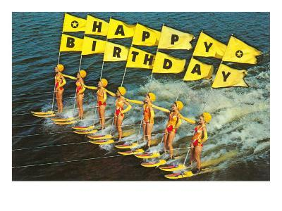 Happy Birthday, Water Skiers