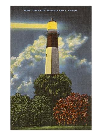 Tybee Lighthouse, Savannah Beach, Georgia