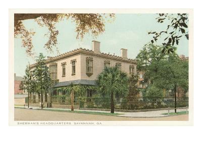 Sherman's Headquarters, Savannah, Georgia