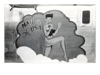 Nose Art, Maid in USA Pin-Up