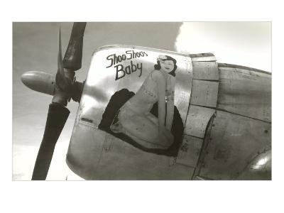 Nose Art, Shoo Shoo's Baby, Pin-up