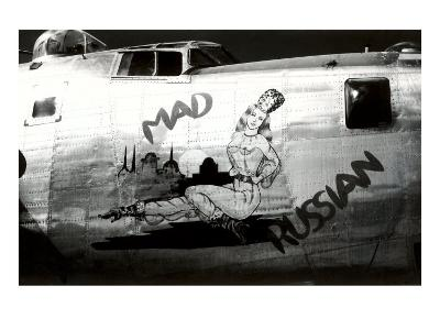 Nose Art, Mad Russian, Pin-Up