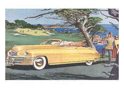 Big Car by Golf Course