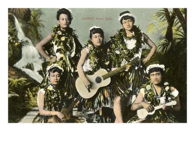 Hawaiian Music Girls
