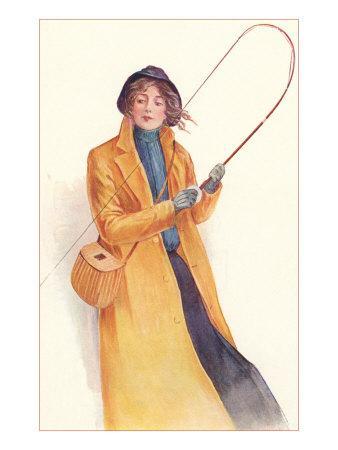 Lady Casually Fly Fishing