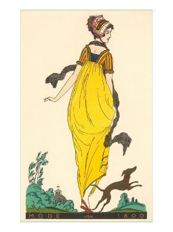 European Fashion, Whippet, 1800