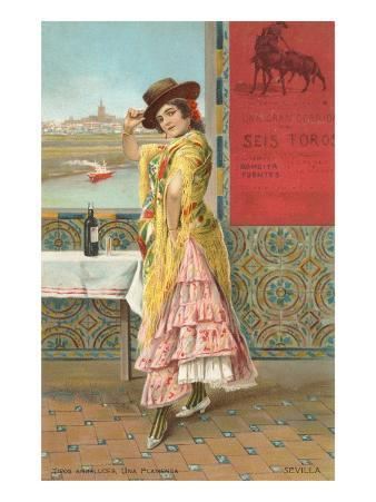 French Fashion, Flamenco Dancer