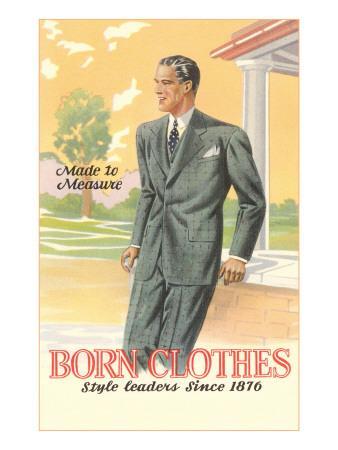 Born Clothes, Man in Suit