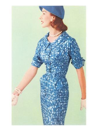 Blue Fifties Dress