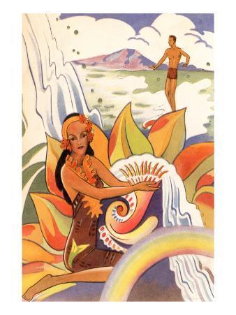 Hawaiian Scene, Graphics