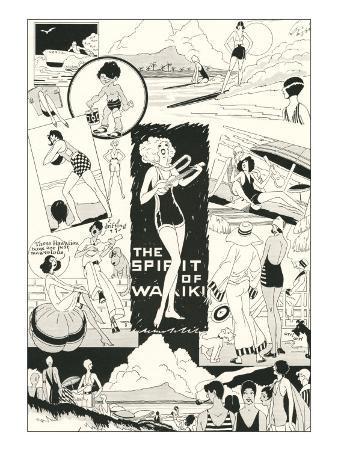 Twenties' Hawaiian Cartoons