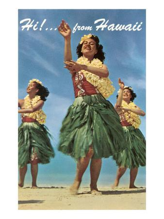 Hi from Hawaii, Hula Dancers