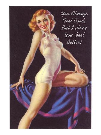 Get Well Pin-Up