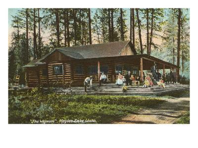 Log Cabin, Hayden Lake, Idaho