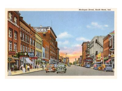 Michigan Street, South Bend, Indiana