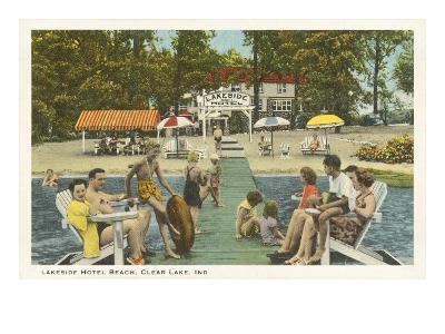 Lakeside Hotel, Clear Lake, Indiana