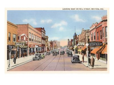 Downtown, Whiting, Indiana