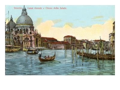 Grand Canal, Salute Church, Venice, Italy