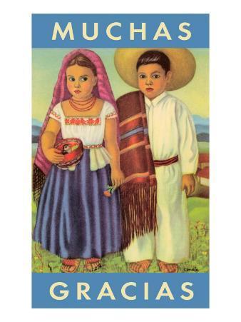 Muchas Gracias, Mexican Children