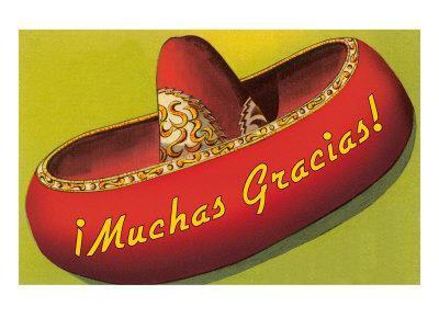 Muchas Gracias, Sombrero