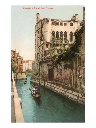 San Trovaso Canal, Venice, Italy