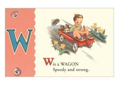 W is a Wagon