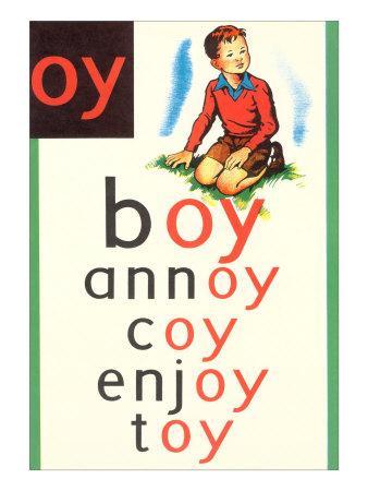 OY in Boy