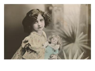 Vamp Girl with Doll
