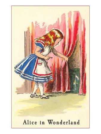 Alice in Wonderland, Alice Finds Door