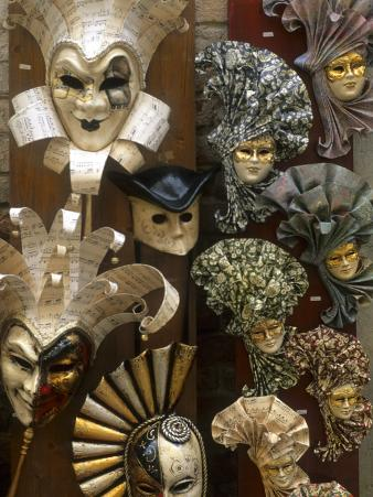 Masks For Sale, Venice, Italy