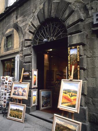 Gallery, Cortona Mian, Tuscany, Italy