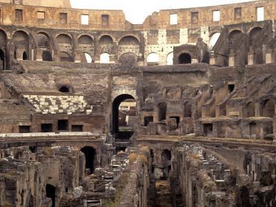 Colosseum Ruins, Rome, Italy