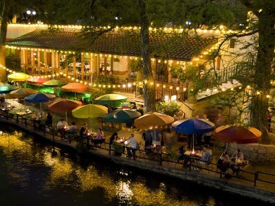 River Walk Restaurants and Cafes of Casa Rio, San Antonio, Texas